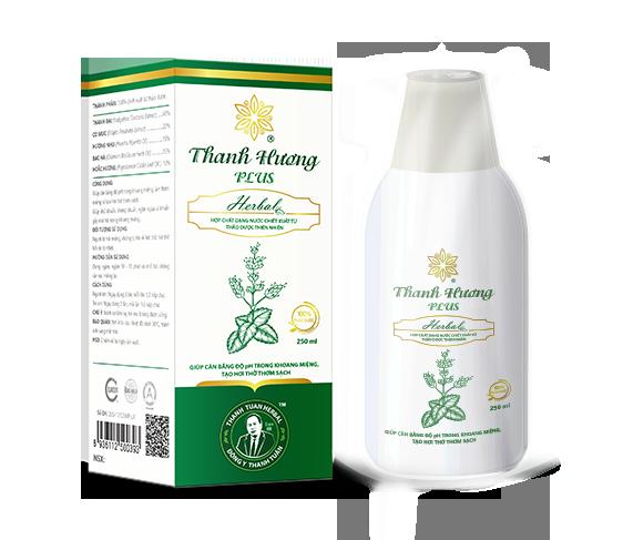 Thanh Hương Plus Nước súc miệng từ thảo dược