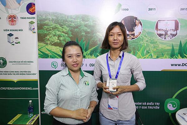 Chị Hương chia sẻ cảm nhận về thuốc xịt viêm xoang Thanh Tỵ Linh