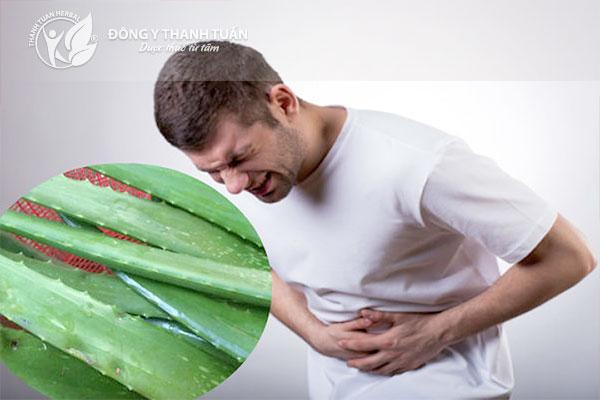 Lô hội giúp hết đau bao tử