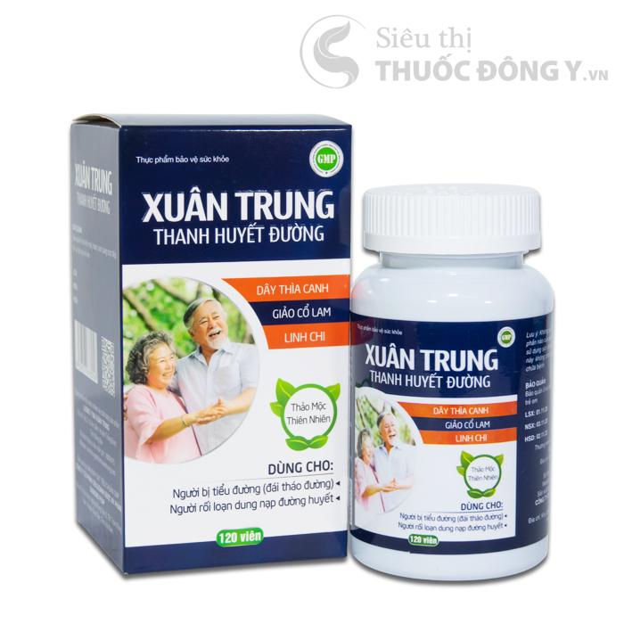 Xuân Trung Thanh Huyết Đường – Hỗ trợ điều trị tiểu đường hiệu quả